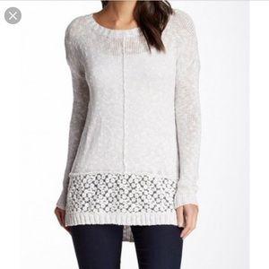 Olivia sky tunic sweater